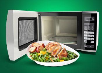 Cum să foloseşti cuptorul cu microunde pentru carnea de pui