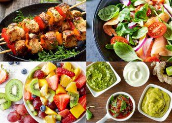 Cele mai gustoase mixuri dintre salată și pui