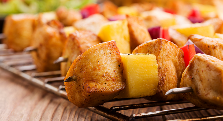 frigarui de pui organic cu ananas