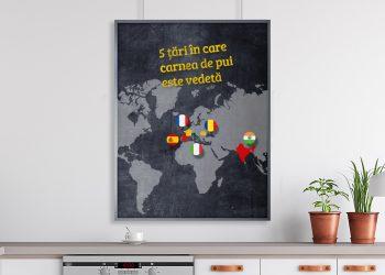 5 țări în care carnea de pui este vedetă